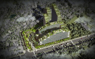 HONG NGOC INTERNATIONAL GENERAL HOSPITAL PLANNING
