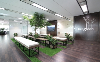 Beegreen Lotte Office Interior