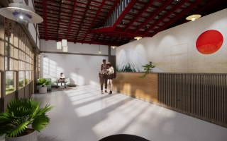 King's Garden luxury - Onsen Spa | Interior