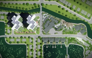 King's Garden luxury - Masterplan | Landscape