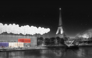 PARIS RESTAURANT BY THE SEINE - 3RD PRIZE